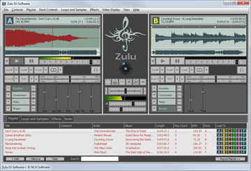 Zulu is a free DJ mixing software.