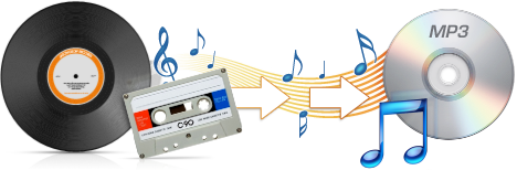 Convert Vinyl Records Amp Audio Cassettes To Cd Mp3 With Lp