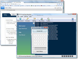 IVM Telephone Answering Attendant Screenshot