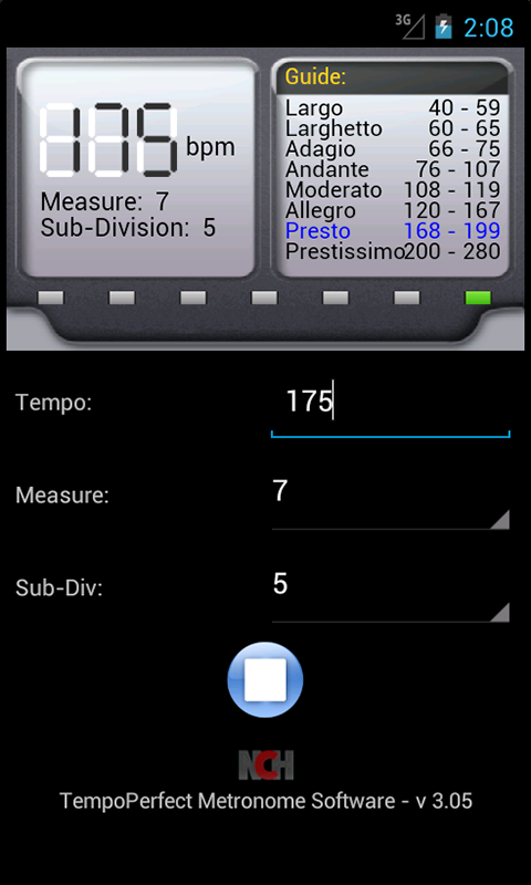 TempoPerfect Metronome Software - Professional Metronome for