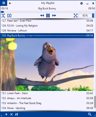 PlayPad Media Player - screenshot