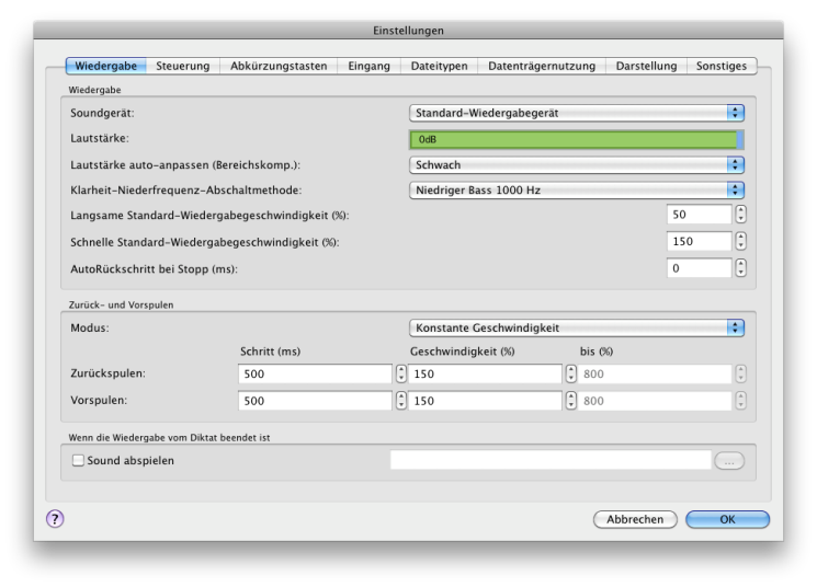 Vorschau Express Scribe Mac - Bild 3