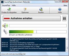 SoundTap Streaming Audiorekorder