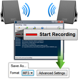Internet-Radio-Recorder, Audio-Stream speichern uvm.