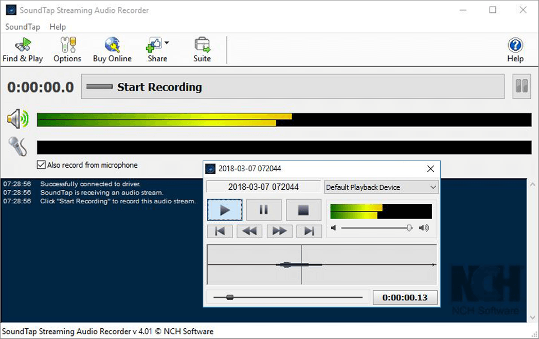 Streaming Audio Recorder  Capture Audio & Music on PC or Mac