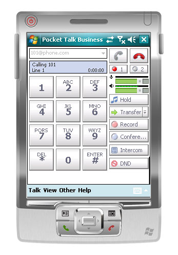 Express Talk Business VoIP for Pocket PC screenshot