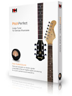 pitchperfect free software to easily tune your guitar. Black Bedroom Furniture Sets. Home Design Ideas