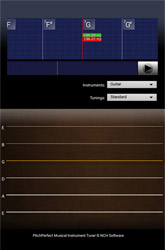 PitchPerfect Guitar Tuner for Android  Free