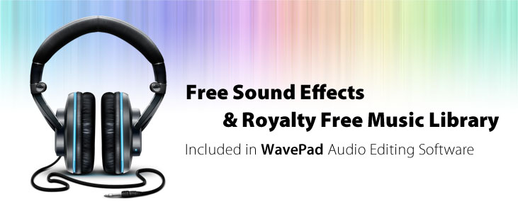 Free Sound Effect (SFX) Downloads for WavePad Sound Editor