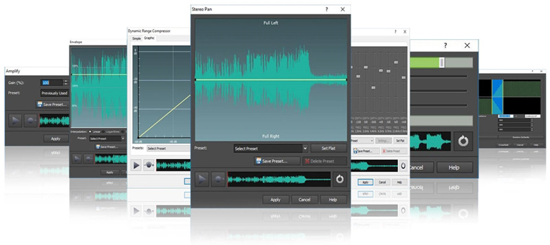 Audio Editing Software  Sound, Music, Voice & Mp3 Editor