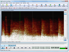 FFT Sound Analyzer - Audio Analysis Software for Windows & Mac